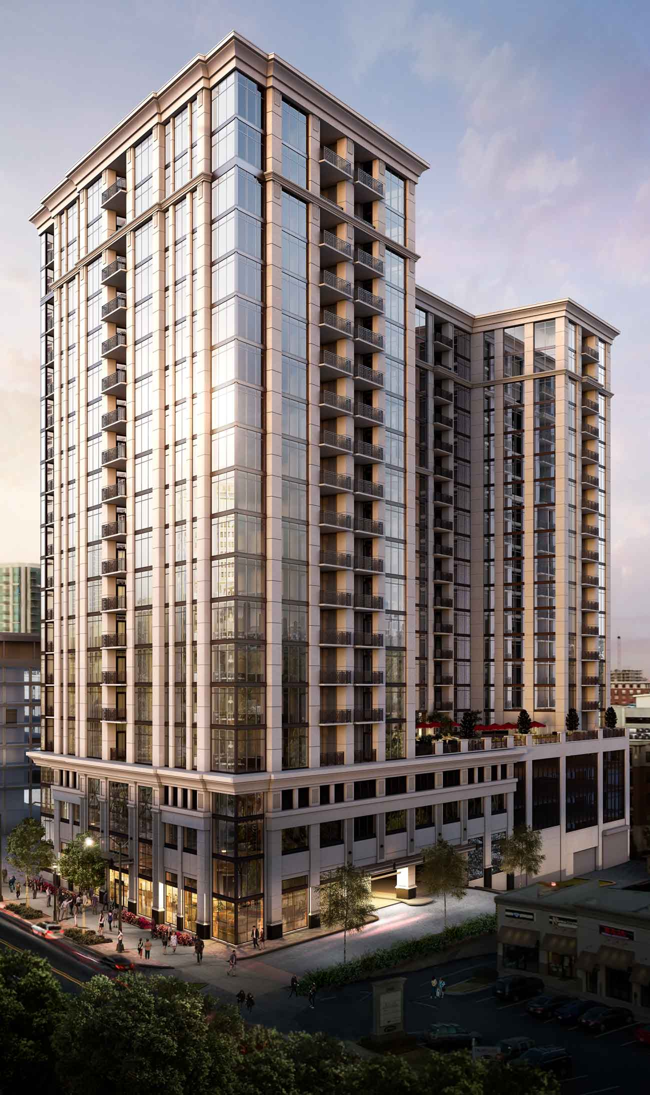 The Sutton Buckhead Atlanta High-Rise Luxury Residences at the ...